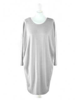 Sukienka Over Pastel Grey