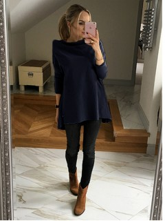 Bluza Over Navy Blue
