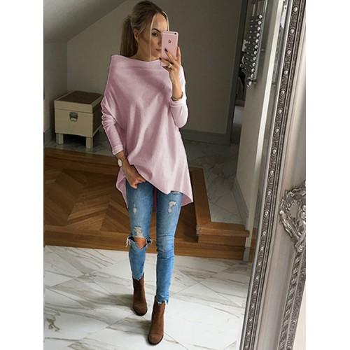 Bluza Over Pastel Pink