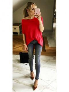 Bluzka Kimono Fire Red