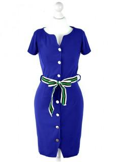 Sukienka Szmizjerka Cobalt