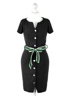 Sukienka Szmizjerka Black