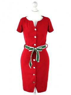 Sukienka Szmizjerka Red