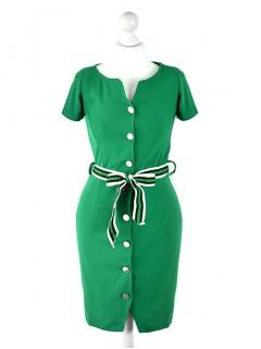 Sukienka Szmizjerka Green
