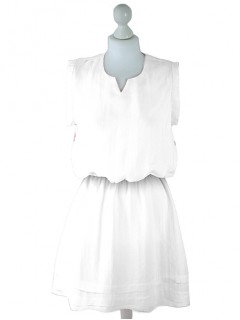 Sukienka Lniana White