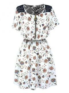 Sukienka ZIP White