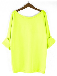 Bluzka Obustronny V-NECK Neon Yellow