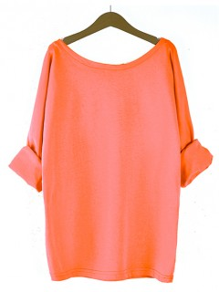 Bluzka Obustronny V-NECK Neon Orange