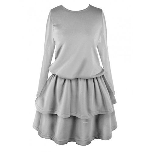 Sukienka Princess Light Grey