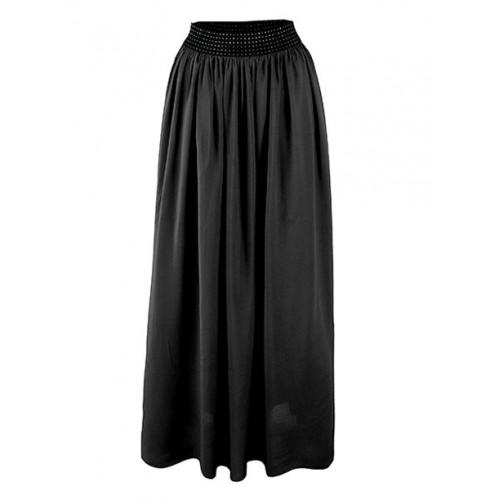 Spódnica Maxi Bawełna Black