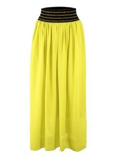 Spódnica Maxi Pari Żółta