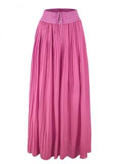 Spódnica Maxi Plisa Pink