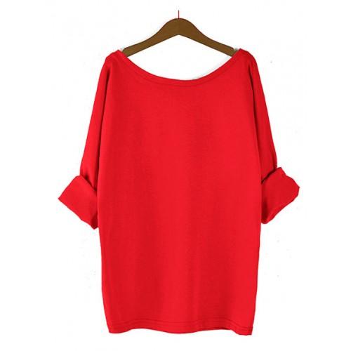 Bluzka Obustronny V-NECK Red