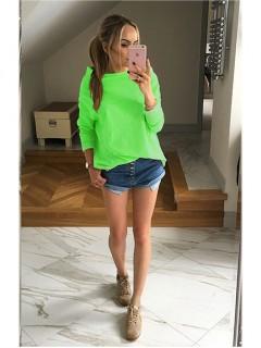 Bluza Over Neon Green
