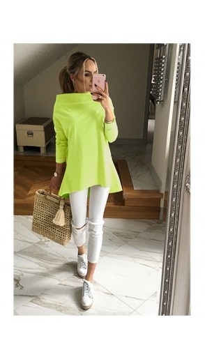 Bluza Over Neon Yellow