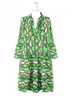 Sukienka Snake Zielona