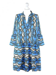 Sukienka Snake Niebieska