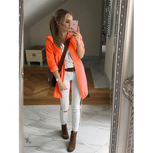 Parka Narzutka Awanti Neon Orange
