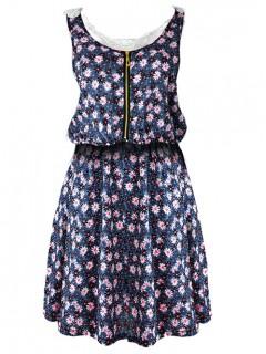 Sukienka ZIP Gipiura Black
