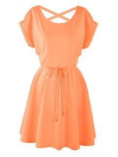 Sukienka Strapsy Neon