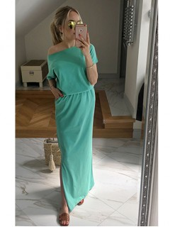 Sukienka Atena Maxi Groszkowa