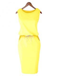 Sukienka Lizbona Yellow