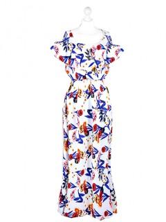 Sukienka Maxi Hiszpanka Biała