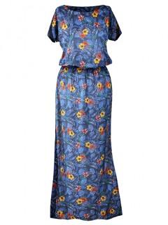 Sukienka Atena Maxi Kwiatki