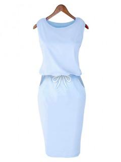 Sukienka Lizbona Pastel Blue