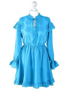 Sukienka MiLady Niebieska