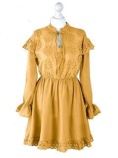 Sukienka MiLady Musztardowa