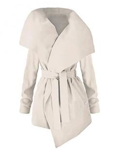 Płaszcz Flausz Wrap Waniliowy