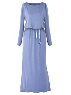 Sukienka Maxi Denim
