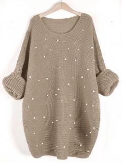 Sweter Perły Beige
