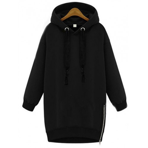Bluza Basic Zip Czarna