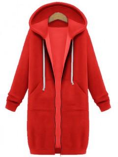 Bluza L-Basic Czerwona