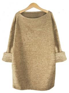 Sweter Dzianina Latte