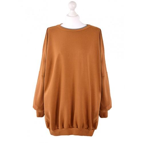 Bluza Oversize Karmelowa