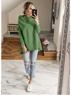 Bluza Dzwonek Zielona