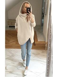 Bluza Asymetryczna Piaskowa