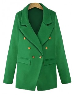 Płaszcz Marynarka Zielony