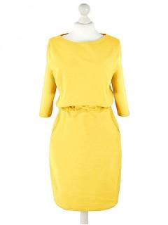 Sukienka Troczek Żółta
