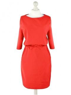 Sukienka Troczek Czerwona