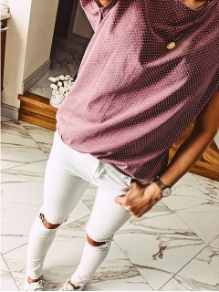 Bluzka Koszulka Kropeczki