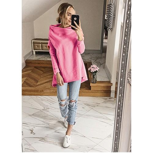 Bluza Dzwonek Różowa