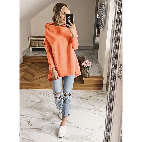 Bluza Dzwonek Neon Pomarańczowy