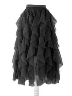Spódnica Tiulowa Czarna