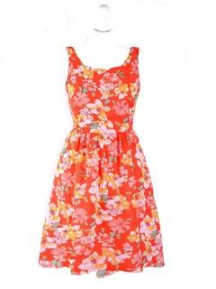 Sukienka Szyfon Koralowa