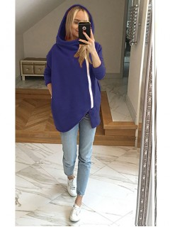 Bluza Asymetryczna Kobaltowa