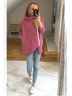 Bluza Asymetryczna Blush